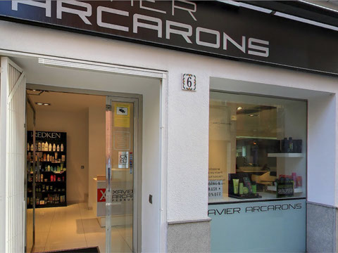 Xavier Arcarons perruquers Granollers